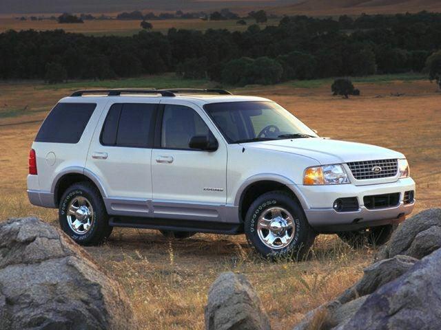 2002 ford explorer eddie bauer