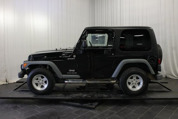 2005 Jeep Wrangler Sport For Sale Or For Lease In Bay City Mi 1j4fa49s35p357538